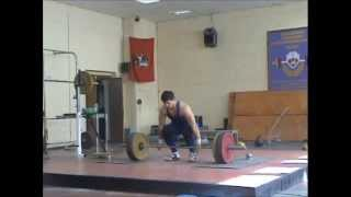 "Weightlifting training - ""проходочка"" по залу"