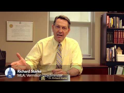 MLA Richard Starke - Bill 3: Voluntary Blood Donations Act