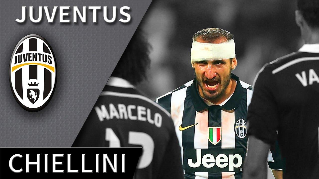 Giorgio Chiellini • Juventus • BestDefensive Skills & Goals • HD