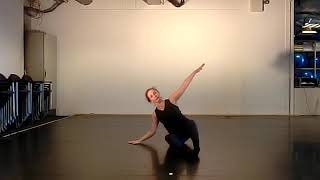 8). Exercise for Contemporary Dance Class by Joan van der Mast