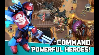 Alien Creeps TD - Epic tower defense Gameplay | Android 1080 HD