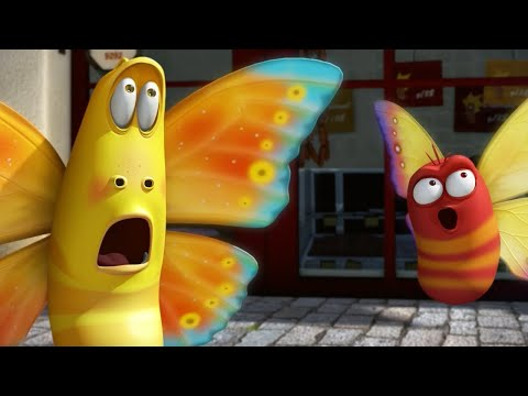 LARVA - THE BUTTERFLY | 2017 Cartoon | Cartoons For Children | Kids TV Shows Full Episodes