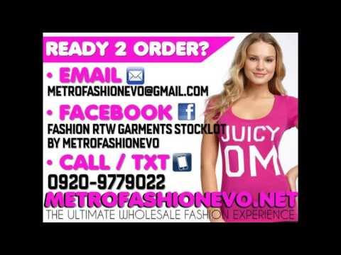 Cheap Mens & Ladies RTW SUPPLIER IMPORTER in Manila Philippines by  METROFASHIONEVO