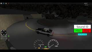 initial d roblox ae86 up hill