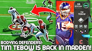 THEY ADDED TIM TEBOW INTO MADDEN! Bodying Players! Madden 21