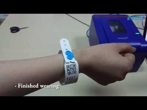 How To Print And Use FTGO Brand Hospital Patient Id Wristband