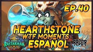 MEJORES MOMENTOS HEARTHSTONE ESPAÑOL | Episodio 40