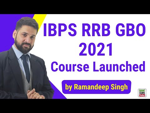IBPS RRB Scale 2 GBO 2021 Course by Ramandeep Singh