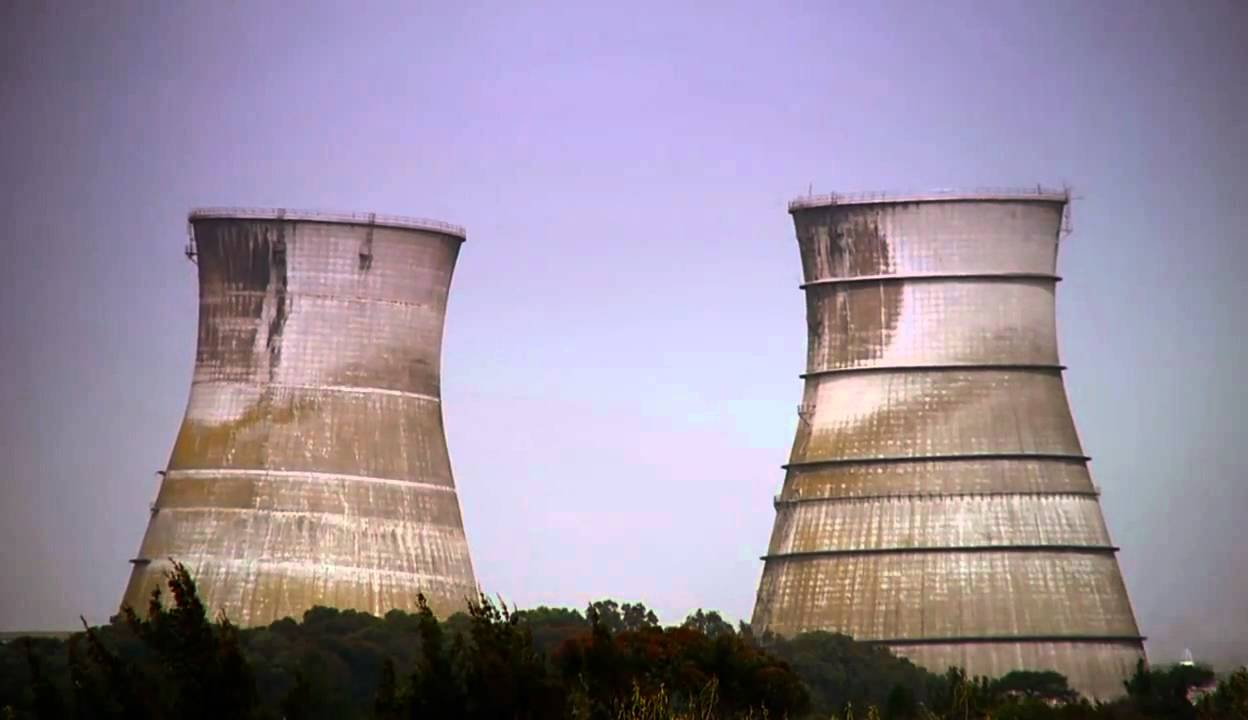 Athlone Cooling Towers  Athlone Power Station