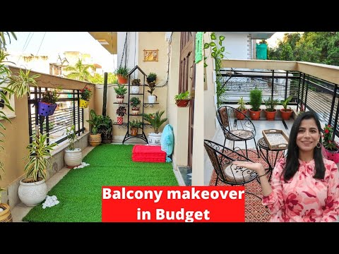Balcony Makeover in Budget l Indian Balcony Decoration Ideas l Dream Simple
