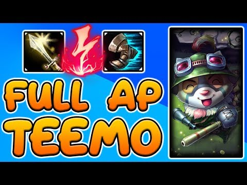 FULL AP TEEMO + ELECTROCUTE DOES SO MUCH DAMAGE!
