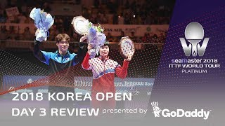 Video 2018 Korea Open | Day 3 Review Presented by GoDaddy download MP3, 3GP, MP4, WEBM, AVI, FLV Juli 2018