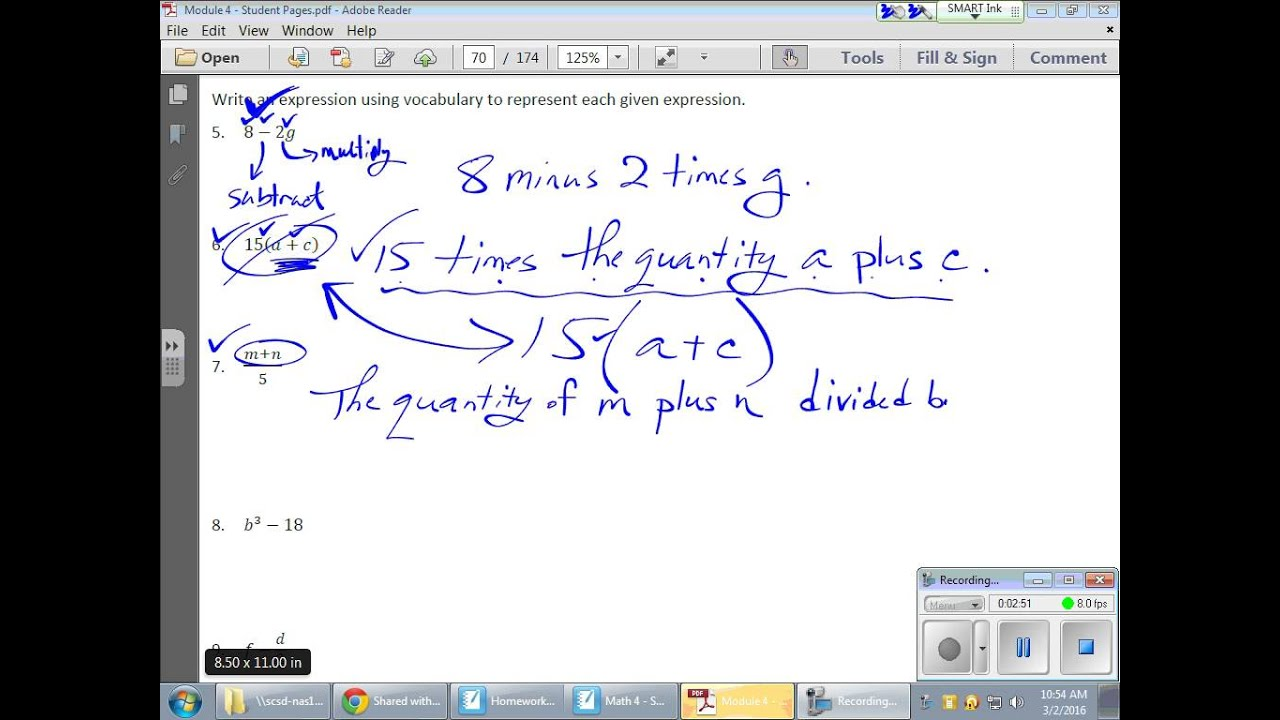 Videos: Module 2 Topic D(Lessons 16 19) - Lessons - Tes Teach