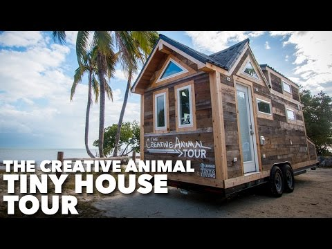 The Creative Animal Tiny House Tour