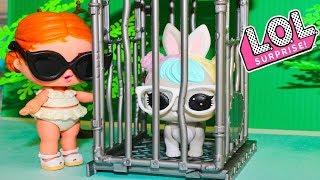 Куклы ЛОЛ Украли Питомца!! Мультики с куклами Игрушки Сюрпризы Видео для детей ЛОЛ Сюрпризы