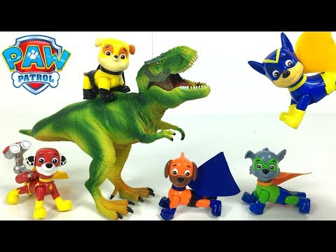 PAW PATROL SUPER PUPS GIFT PACK WITH CHASE MARSHALL SKYE RUBBLE ROCKY & ZUMA ACTION PACKS - UNBOXING