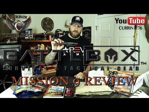 "BattlBox Review Mission 9 November 2015 ""Year of the BattlBox"""