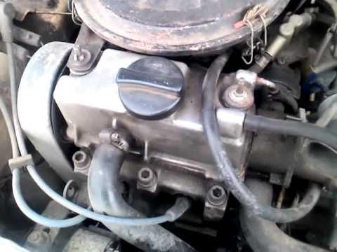 Звук работы двигателя оки