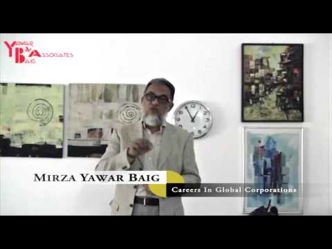 Careers In Global Corporations  - Mirza Yawar Baig
