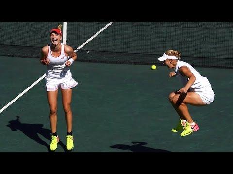 Rio Olympics 2016 Tennis Women's Doubles Winners