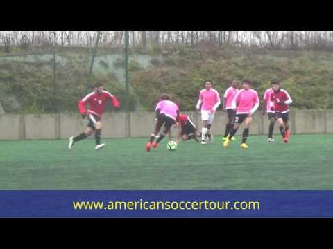 MONTAGE ADILE DAMILE - MILIEU DEFENSIF (american soccer tour)
