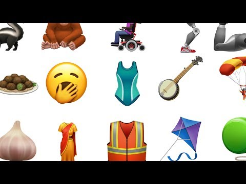 New Emoji Are Coming This Fall!