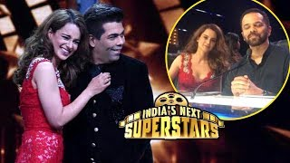 Kangana Ranaut Karan Johar HUG Moment On India's Next Superstars