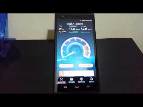 MetroPCS ZTE ZMAX SpeedTest 4G LTE