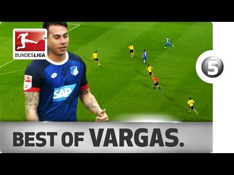 Eduardo Vargas' Top Moments - Copa America Winner's First Bundesliga Season