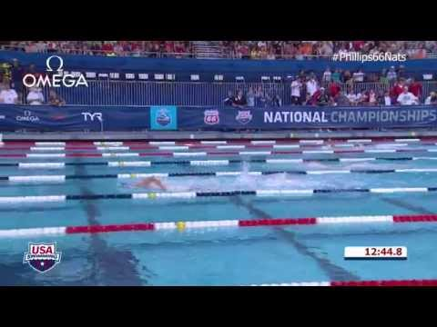 M 1500 Freestyle A Final - 2014 Phillips 66 National Championships