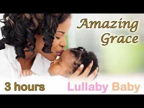☆ 3 HOURS ☆ AMAZING GRACE Instrumental ♫  PIANO, CELLO + STRINGS ~ Relaxing Music ~ Baby Sleep Music