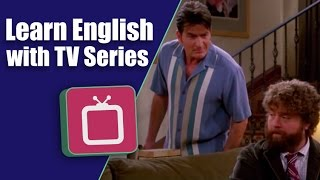 Learn English with Two And a Half Men: Stu the Pot Smoking Teacher