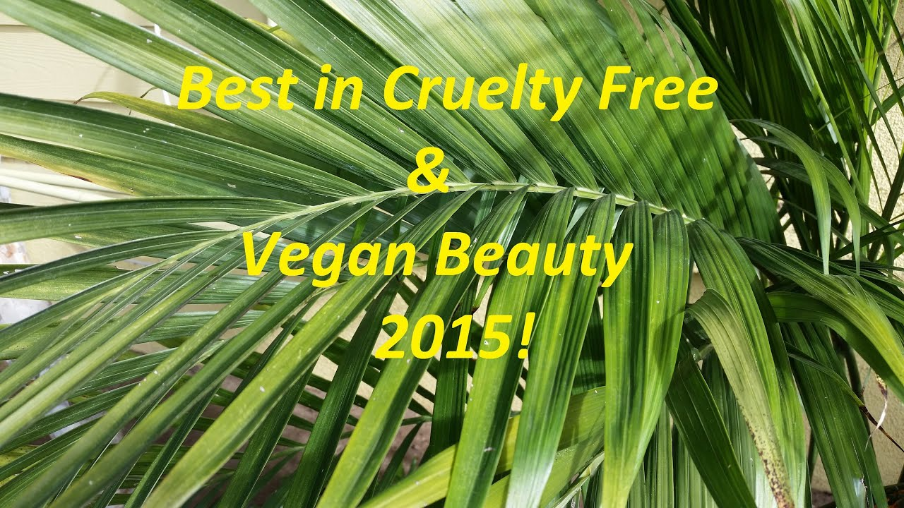 My Best In Cruelty Free Vegan Beauty 2015 Youtube