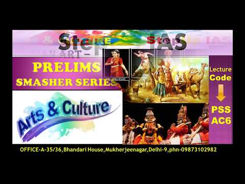 Art & Culture: Prelims Smasher Series (PSS) AC6- UNESCO'S List of Intangible Cultural Heritage