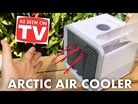 ARCTIC AIR Test | as seen on tv air cooler!!