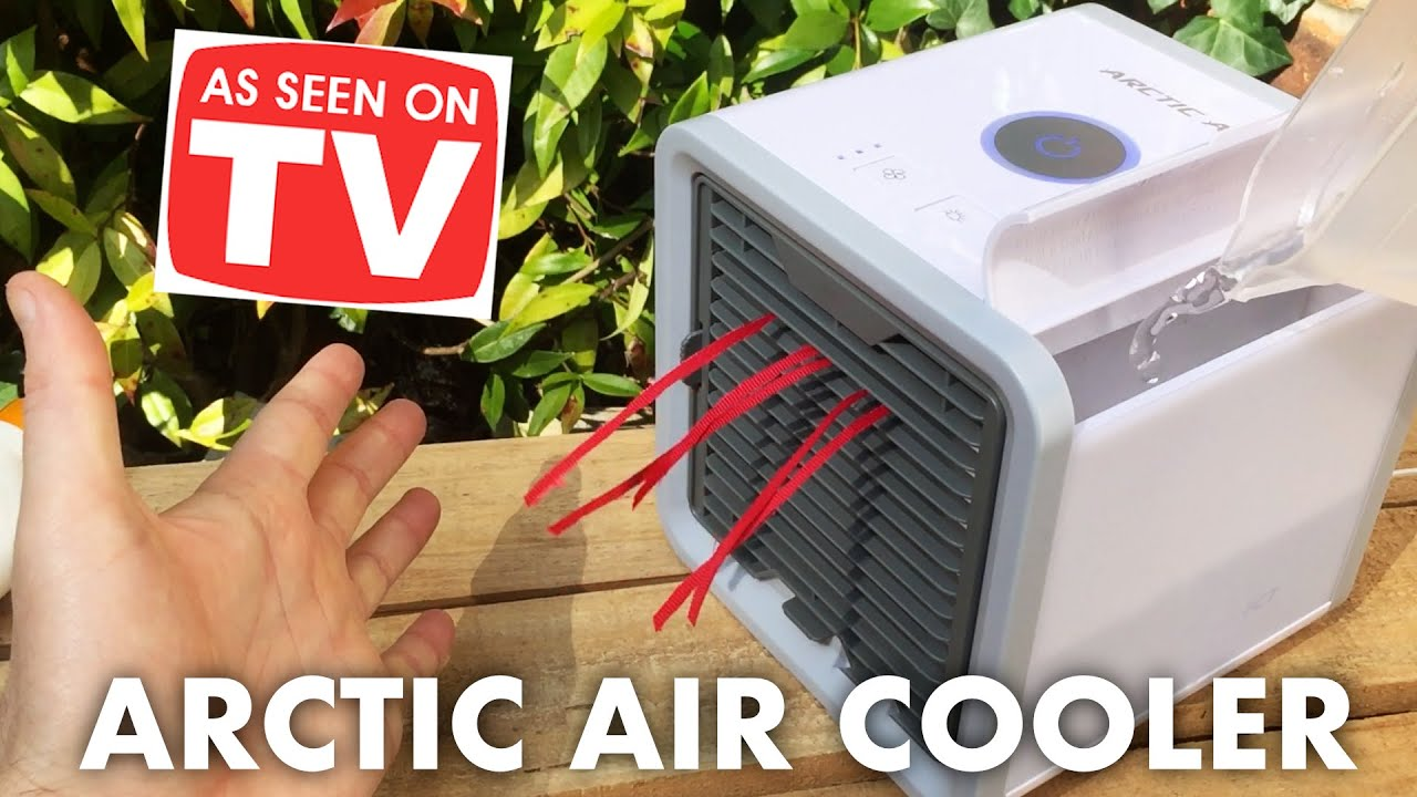 Arctic Air Cooler Personal Air Conditioner Review Test Unboxing Youtube