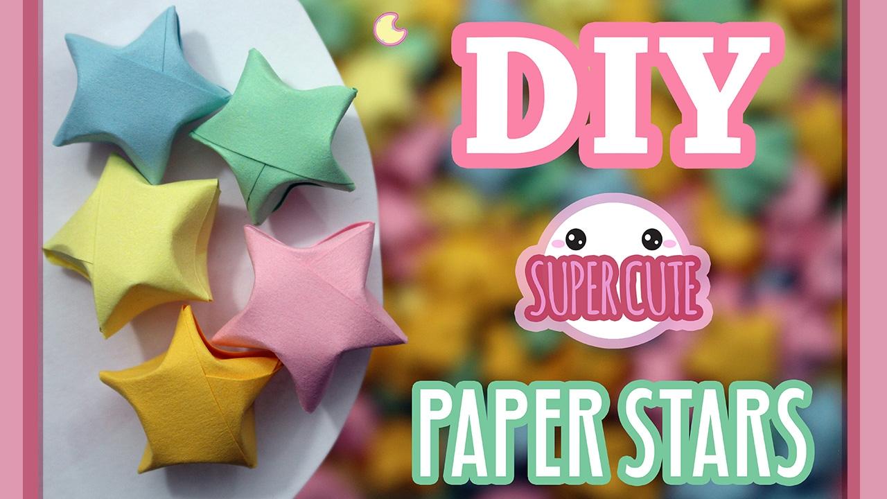 Diy Super Cute Mini Paper Stars