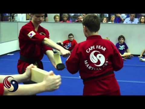 Black Belt Test For Cape Fear Martial Arts