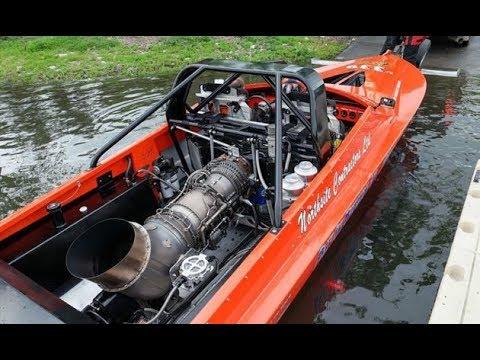Jet Engine Boat
