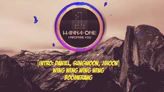 Lyric romanized Wanna One-Boomerang(부메랑)