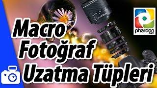 Makro Fotoğraf için Uzatma Tüpü İncelemesi - Extension Tube Review for Macro Photography