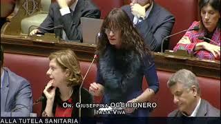 L'intervento dell'onorevole Giusy Occhionero alla Camera