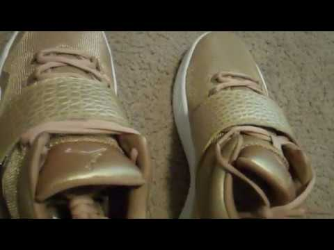 4661663aa7c Nike Jordan J23 Metallic Gold Unboxing and On Feet - YouTube