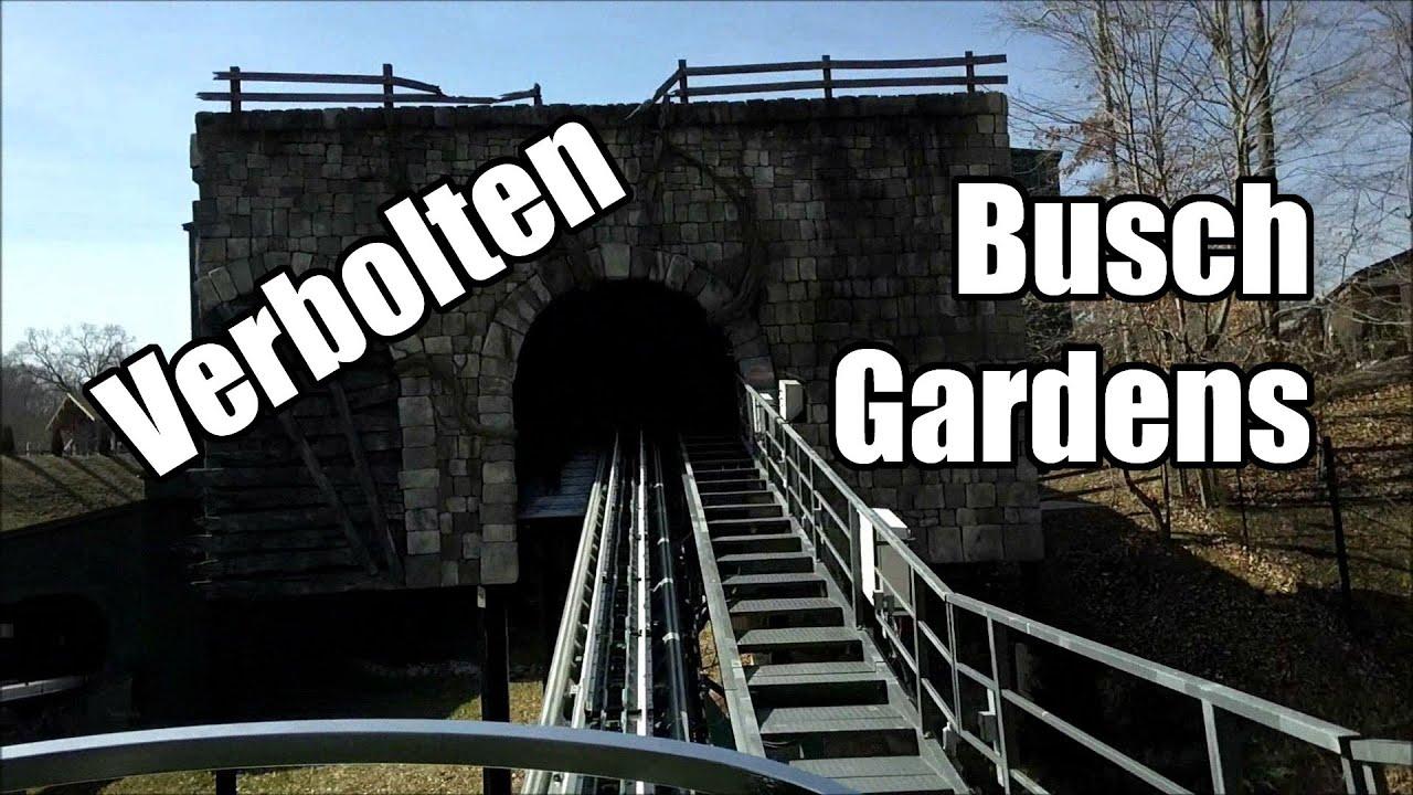 Verbolten Front Seat On Ride Pov Busch Gardens Va Youtube
