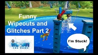 Wipeout the Game - Funny Wipeouts/Glitches Part 2 (Wii)