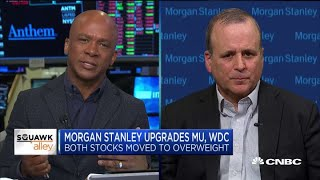 Here's why Morgan Stanley upgraded Micron, Western Digital