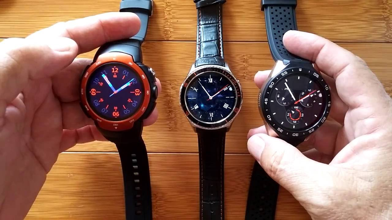 Round Android 5 1 I2/KW88/Z9 Watches Compared: 1-Appearance