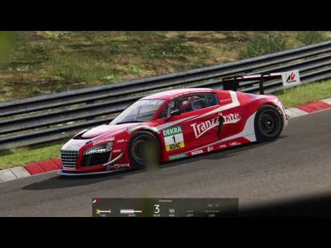 Assetto Corsa ニュルブルクリンク北コース AUDI R8 GT3  replay