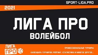 Волейбол Лига Про Группа В 02 июля 2021г