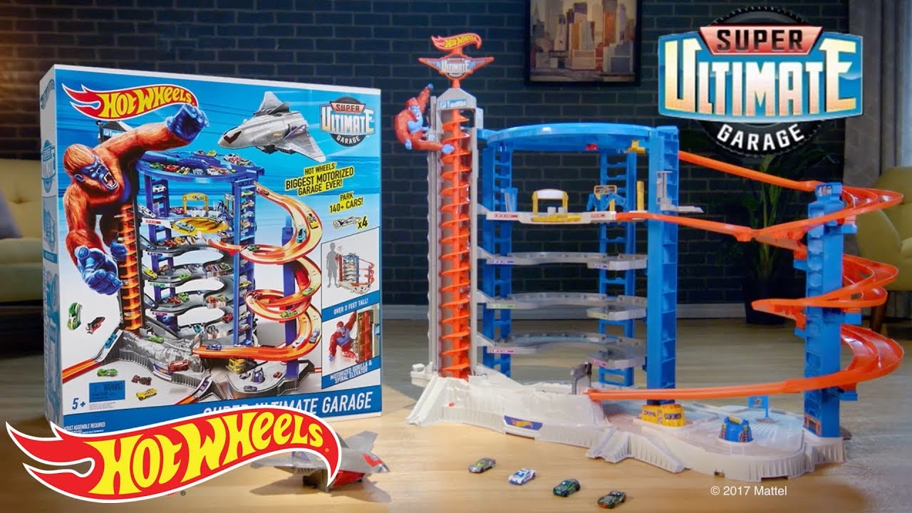Hot Wheels Super Ultimate Garage Hot Wheels Youtube